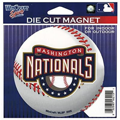 Washington Nationals - Baseball Logo In/out Magnet