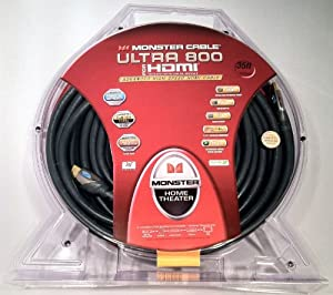 Monster U3 V800 HDMI-35 Advanced High Speed HDTV HDMI Cable (35 feet)