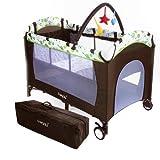 Froggy� Kinderreisebett CPL02 Braun