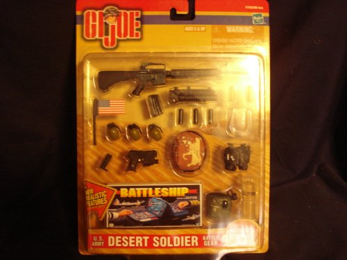 Buy Low Price Hasbro Gi Joe Army Desert Soldier Battle Gear Figure (B004Y12QWQ)
