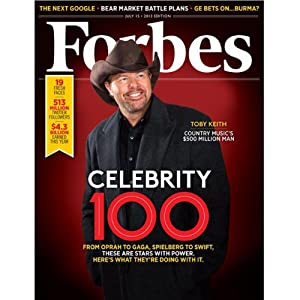Forbes, July 1, 2013 Periodical