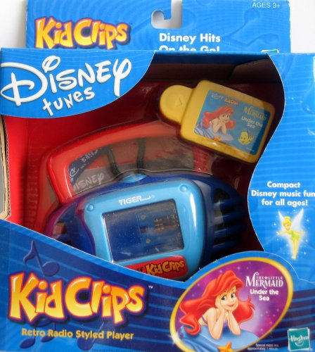 Buy Disney Tunes Kid Clips Retro Styled Player with Little Mermaid ...