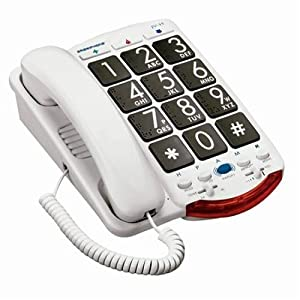 Ameriphone JV35 Phone with 37-dB Amplification and Large Keypad