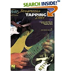 75 extreme guitar idea lesson lick progressive tab tapping tapping
