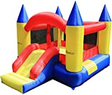 Maribelle Inflatable Bouncy Castle and Slide with Constant Airflow System