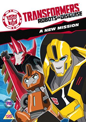 Transformers: Robots In Disguise - A New Mission [DVD] [Edizione: Regno Unito]