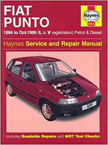 Fiat Punto (1994-1999) Service and Repair Manual (Haynes Service and