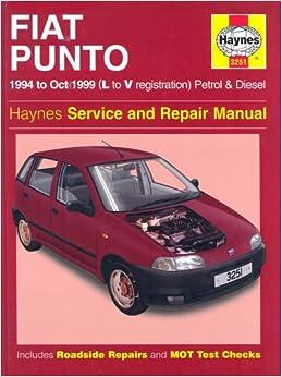 Fiat Punto (1994-1999) Service and Repair Manual (Haynes