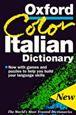 Oxford Colour Italian Dictionary by Oxford
