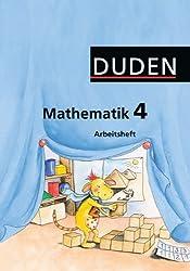 """Duden Mathematik - Grundschule - Westliche Bundesländer (außer Bayern): 4. Schuljahr - Arbeitsheft: Mit Lernstandserhebungen """"Spitze in Mathematik"""""""