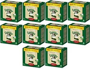 Greenies Dental Chews Value Size Regular 360oz(10 x 36oz Tubs)