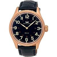 Glycine Gold Plated Steel Mens Watch