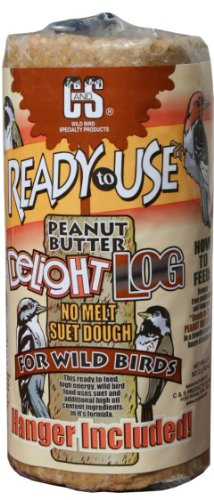Image of C & S Products RTU 2-Pound Peanut Butter Delight Log, 8-Piece
