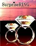 COM★MI-SPRING-M◆超巨大 80号 の指輪 サプライズリング 一生思い出に残る お祝い インテリア イベントにも
