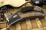 Hardcore Hardware Australia LFK01 Tactical Knife Black Para-Cord Handle