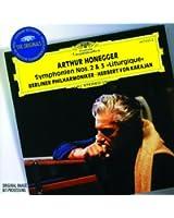 """Honegger : Symphonies n° 2 et n° 3 """"Liturgique"""" - Stravinsky : Concerto en ré"""
