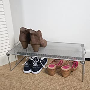 Mesh Shoe Shelf