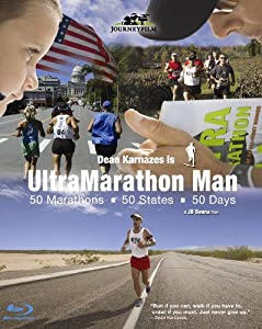 Ultramarathon Man - 50 Marathons 50 States 50 Days (Blu-ray)