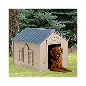 Deluxe Dog House for Large Dogs