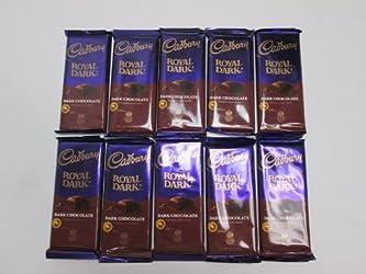 Cadbury Royal Dark Chocolate Bar, 3.50-Ounce (Pack of 10)