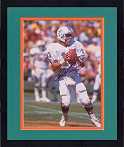Framed Signed Dan Marino Miami Dolphins Photo - 16x20 JSA SM - - JSA Certified -... by Sports Memorabilia
