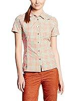 Salewa Camisa Mujer Valparola Dry W (Naranja / Turquesa)