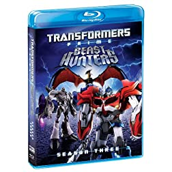 Transformers Prime: Season Three [Blu-ray]