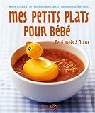 echange, troc Marie LETEURE - Mes petits plats pour bébé