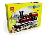MINI TRAIN – BUILDING BLOCKS 85 pcs set Compatible with Lego parts, Best Toy, Great Gift!