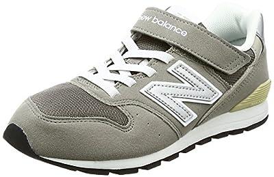 [ニューバランス] キッズシューズ Kv996 Yv996(現行モデル) 運動靴 通学履き 男の子 女の子 15_グレー(cwy) 18 Cm