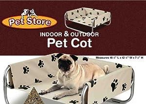 Pet Store Indoor Outdoor Pet Cot