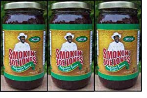 Sweet Barbeque Sauce By Smokin' Joe Jones Mild Flavor 3-pack of 18oz. Net Weight Glass Jars. No Brown Sugar Means This Barbecue Sauce Won't Burn on the Grill. Kosher Certified so It Is Manufactured Under Strict Supervision. No Msg and No Preservatives
