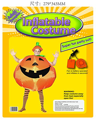 Pumpkin Halloween Costumes Inflatable Costume