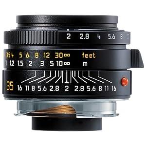 Leica 35mm f/2.0 Summicron-M Aspherical Manual Focus Lens