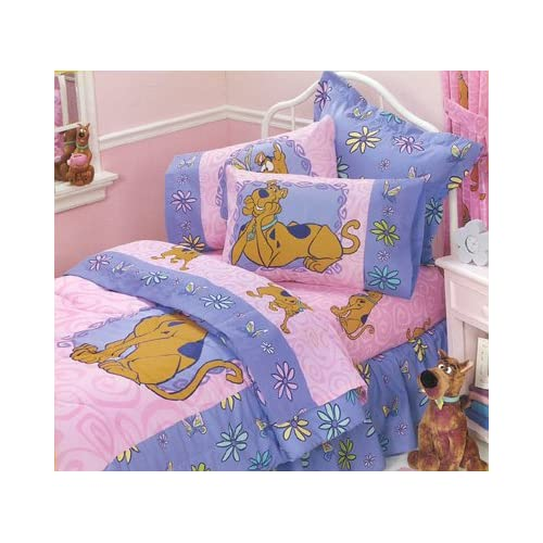 scooby doo springtime twin bedding comforter sheets