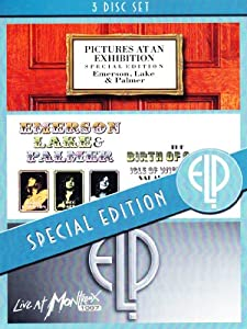 Emerson, Lake & Palmer - Special Edition [3 DVDs]