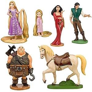 Disney Tangled Rapunzel Figure Play Set 7 Pc.