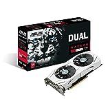 Asus Dual-RX480-O4G Gaming Grafikkarte (PCIe 3.0, 4GB DDR5 Speicher, HDMI, DVI, Displayport)