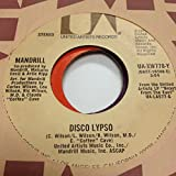 MANDRILL 45 RPM Disco Lypso / Solid