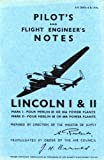 Image of Avro Lincoln I & II -Pilot's Notes