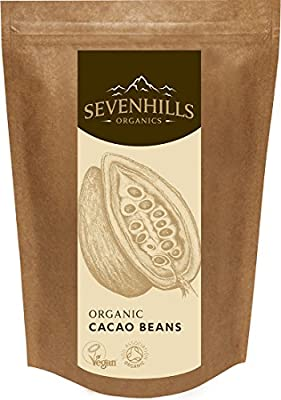 Sevenhills Wholefoods Organic Raw Cacao Beans, Soil Association certified organic