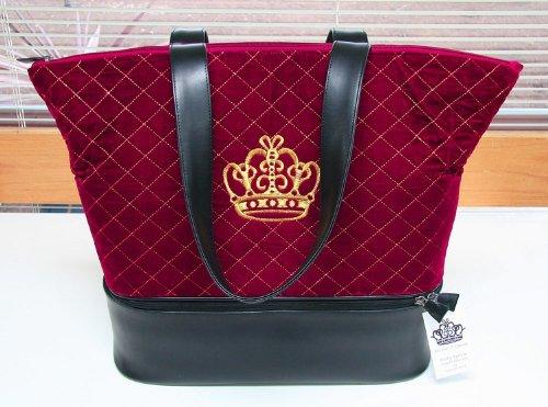 Lantern Moon Royal Knitting Bag by Nicky Epstein - Red Velvet from Lantern Moon