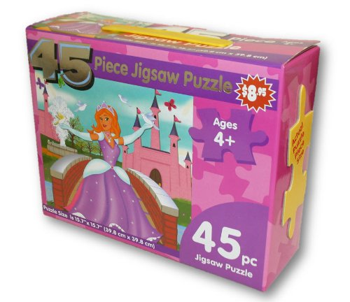 45 Piece Jigsaw Puzzle - Princess