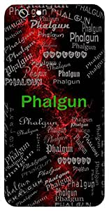Phalgun (A Month From Our Hindu Calender) Name & Sign Printed All over customize & Personalized!! Protective back cover for your Smart Phone : Samsung Galaxy S5 / G900I