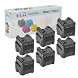 LD © Xerox Phaser 8560 Compatible Black (6 pack) 108R00727 Solid Ink ColorStix Cartridge