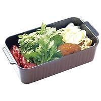 葛恵子のトースタークッキング専用トースターパン(ブラウン)/4225-068