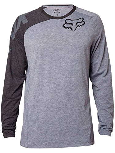 fox-distinguish-ls-tee-men-heather-graphite-grosse-m-2016-longsleeve