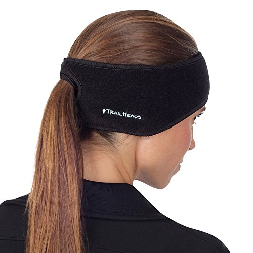 TrailHeads Women's Ponytail Headband - black / black (Running Gear compare prices)