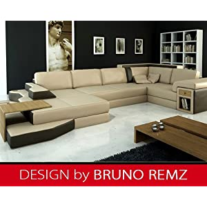 billig kaufen bruno remz dresden leder sofa ledersofa ecksofa wohnlandschaft ledercouch eckcouch. Black Bedroom Furniture Sets. Home Design Ideas