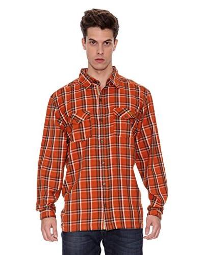 Regatta Camisa Manga Larga Fergus Naranja
